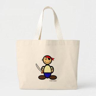 Pirate (plain) jumbo tote bag