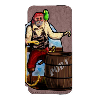 PIRATE, PORT, STORM by Slipperywindow Incipio Watson™ iPhone 5 Wallet Case