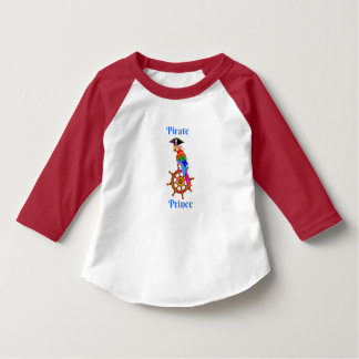 Pirate Prince - Parrot Toddler 3/4 Sleeve T-Shirt