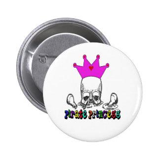 Pirate Princess Button