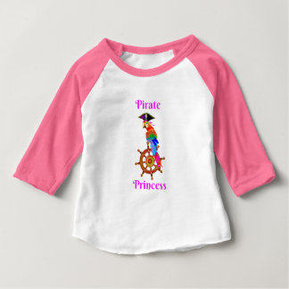 Pirate Princess - Parrot Baby 3/4 Sleeve T-Shirt