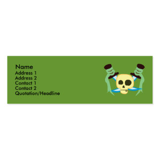 Pirate Profile Cards Pack Of Skinny Business Cards