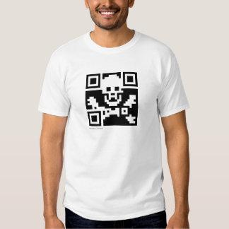 Pirate QR Code T-shirt