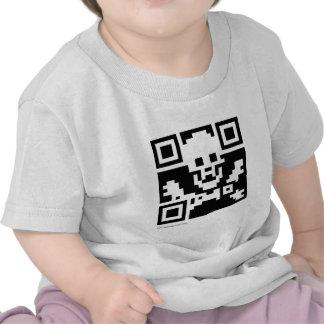 Pirate QR Code Shirts
