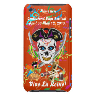 Pirate Queen Lafitte All Styles View Hints Barely There iPod Covers