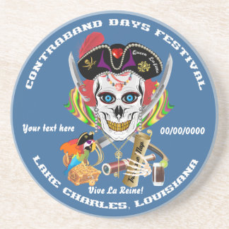 Pirate Queen Lafitte All Styles View Hints Coasters