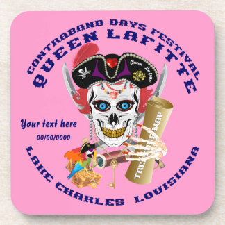 Pirate Queen Lafitte Important View About Design Coaster