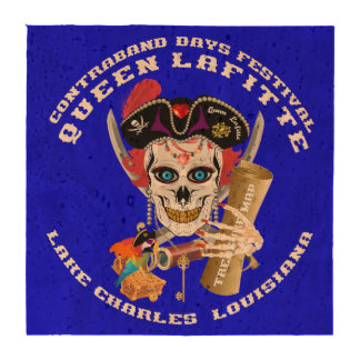 Pirate Queen Lafitte Important View About Design Drink Coasters