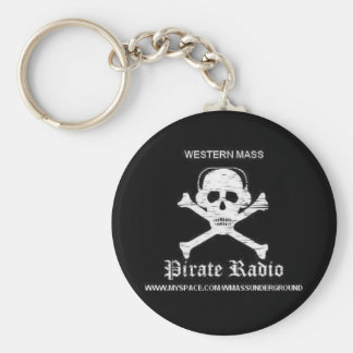 Pirate Radio Keychain