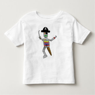Pirate Robot Toddler T-Shirt