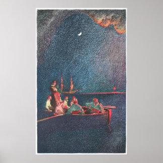 Pirate s Nightboat Print
