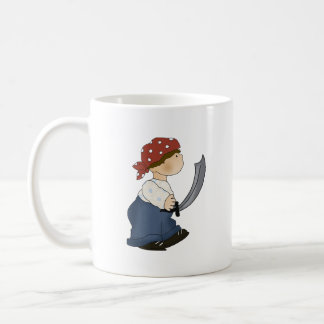 Pirate says ARGH Mugs