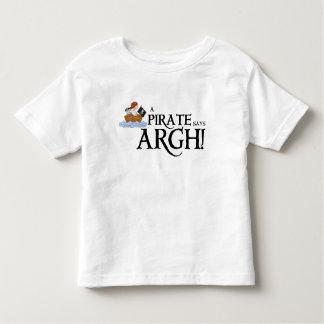Pirate says ARGH Tee Shirt