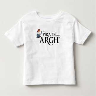 Pirate says ARGH T-shirts