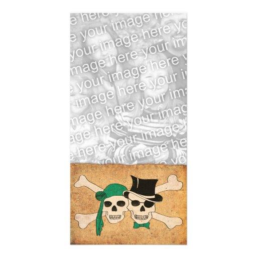 pirate scroll photo cards