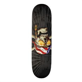 Pirate Scull Art 20 Cm Skateboard Deck