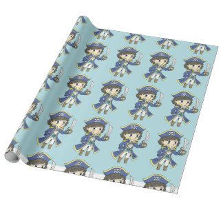 Pirate Shaw - Wrapping paper