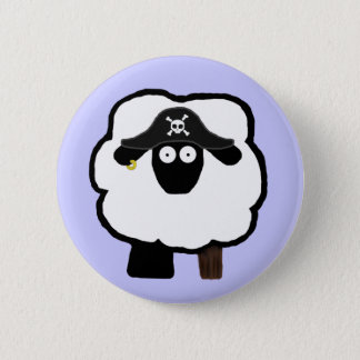 Pirate Sheep Button