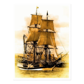 Pirate Ship 2 Postcard