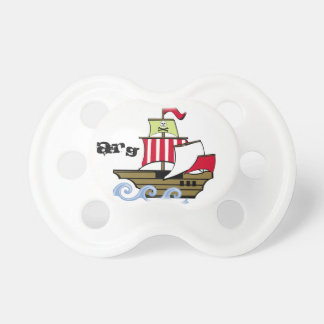 Pirate Ship Baby Pacifiers
