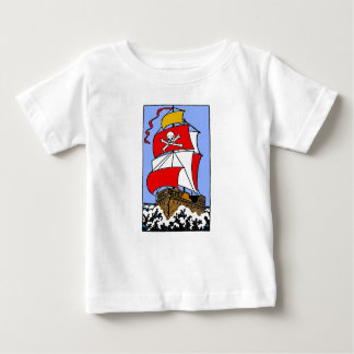 Pirate Ship Baby T-Shirt