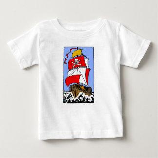 Pirate Ship Baby T-Shirt