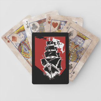 Pirate Ship Bicycle Playing Cards
