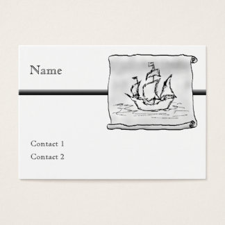 Pirate Ship. Business Card