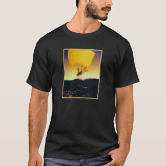 Pirate Ship - by Maxfield Parrish T-Shirt