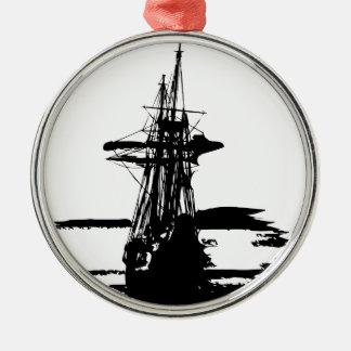 pirate ship christmas ornament