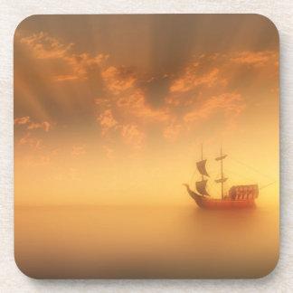 Pirate Ship Drink Coaster