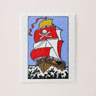 Pirate Ship Jigsaw Puzzle