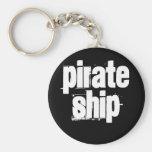 Pirate Ship Key Chain