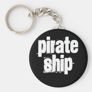 Pirate Ship Key Chain