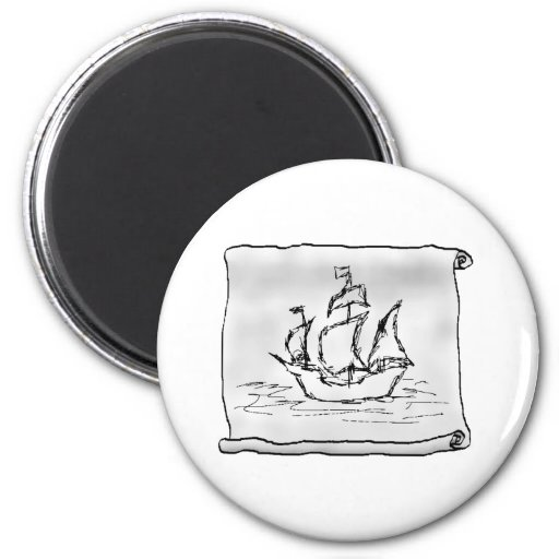 Pirate Ship. Magnets