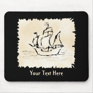 Pirate Ship. Mouse Mat