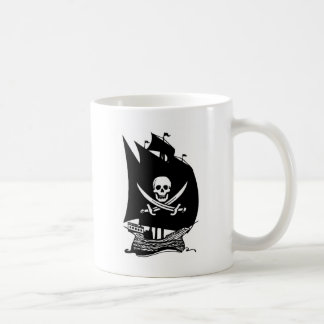 Pirate Ship Coffee Mugs