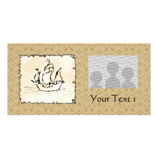 Pirate Ship. Photo Card