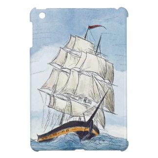Pirate Ship Portrait Gift Case For The iPad Mini
