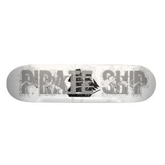 Pirate Ship. Sailing Ship. 21.3 Cm Mini Skateboard Deck
