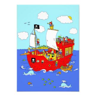 Pirate Ship scene Photograph