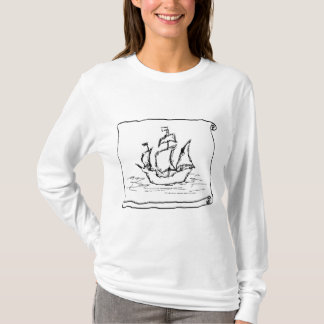 Pirate Ship. T-Shirt