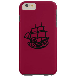 Pirate ship tough iPhone 6 plus case