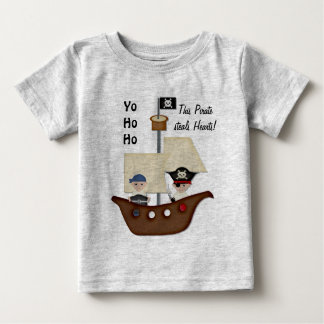 Pirate Ship Treasure Baby Baby T-Shirt