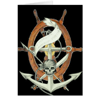 Pirate Sigil Greeting Cards