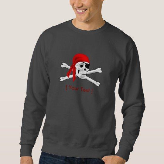 Pirate Skull and Bones Long Sleeve Shirt