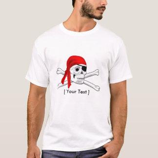 Pirate Skull and Bones Mens T-shirt