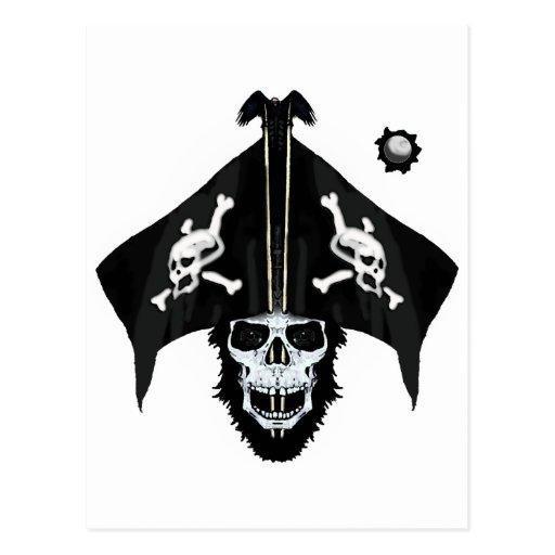 Cute pirate skull and crossbones