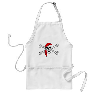Pirate Skull and Crossbones Apron