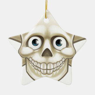 Pirate Skull and Crossbones Cartoon Christmas Ornament